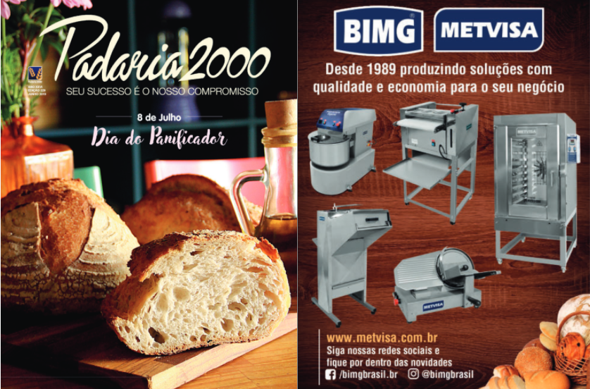 anúncio Padaria 2000